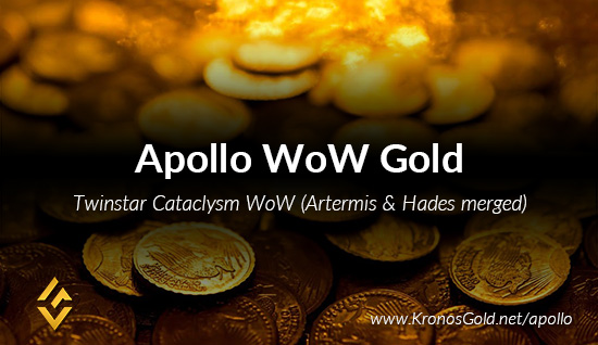 → Gold for Apollo - Cataclysm Server by Twinstar (Hades